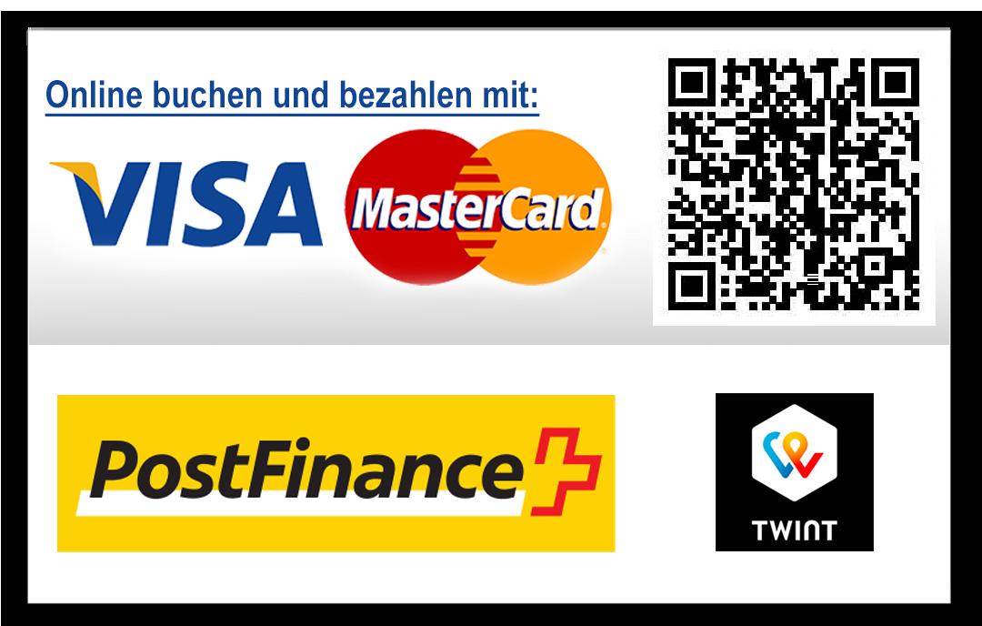 Zahlungsarten + Barzahlen in SBB